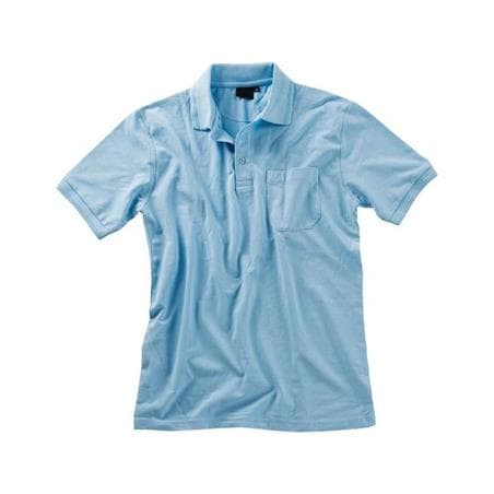 POLOSHIRT PREMIUM ID VON BEB / FARBE: HELLBLAU - LABORMANTEL in ihrer Region Happbühl günstig bestellen - LABORMANTEL in ihrer Region Happbühl günstig bestellen - LABORKITTEL - LABORKITTEL DAMEN - LABOR KITTEL - ARZTKITTEL
